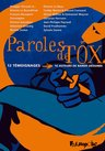 Paroles de Tox : 12 témoignages => 16 auteurs de bande dessinée